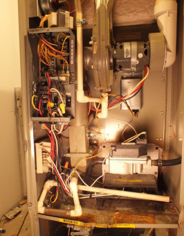 electric wiring solutions gray furnace man furnace