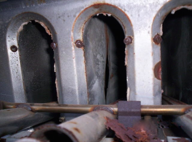 Heat Exchanger Failures Gray Furnaceman Furnace