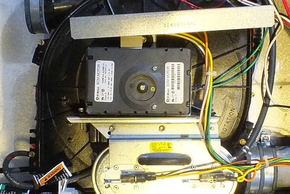 The Ecm Motor Gray Furnaceman Furnace Troubleshoot And