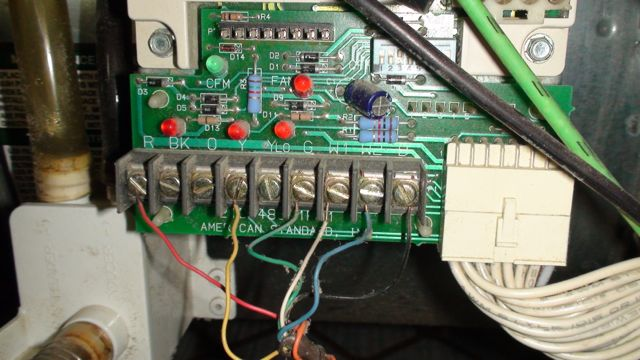 wiring thermostat to furnace board | schematic diagram  schematic diagram