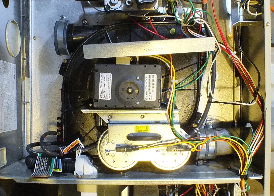 Furnace inducer motor troubleshooting for Lennox furnace blower motor noise